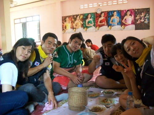 Lunch at NayBan's House