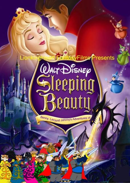 ប៉ុស្ត័រគំនូរជីវចលរឿង Sleeping Beauty